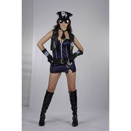 Police Lady Adult Costume
